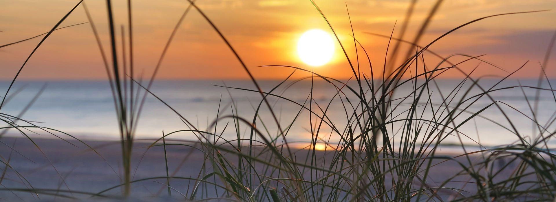 Nordsee - Sonnenuntergang am Strand