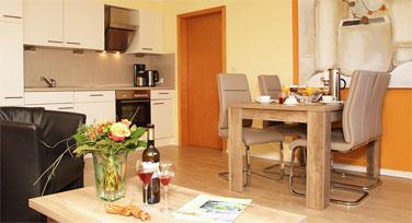 Ferienwohnung mit Küche